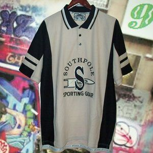 South Pole Textured Jersey Polo